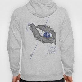Wailin' Whale Vintage Design Hoody