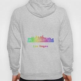 Rainbow Las Vegas skyline Hoody
