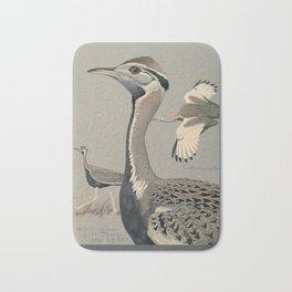 Fuertes,Louis Agassiz 1874-192 -Album of Abyssian birds Bath Mat