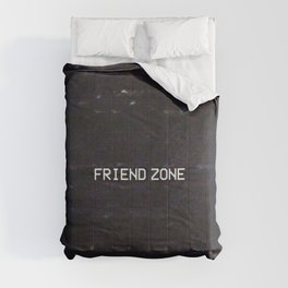 FRIEND ZONE Comforters