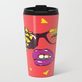 Cracker Heart Nebula Metal Travel Mug