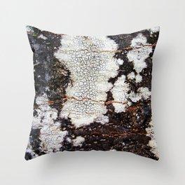 Tree bark naural pattern 2 Throw Pillow