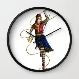 Scythian Woman of Wonder Wall Clock