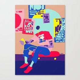 minor threat Canvas Print