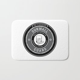Whiskey & Cigars (Grey) Bath Mat
