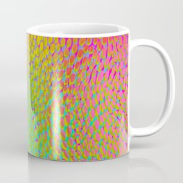 shifting dots in bright color Coffee Mug