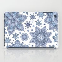 snowflake iPad Cases featuring Snowflake by Awispa