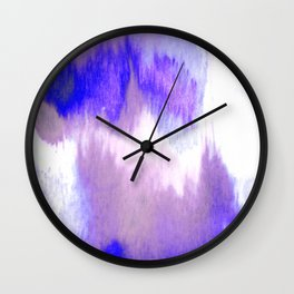 Winter Heart Is Melting Wall Clock
