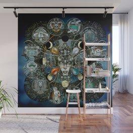 """""""Astrological Mechanism - Zodiac"""" Wall Mural"""