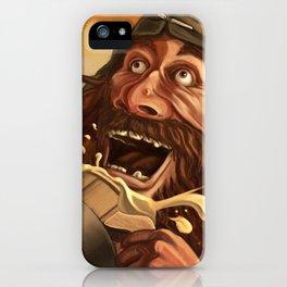 """Ha Ha!  Beer is good!!"" iPhone Case"