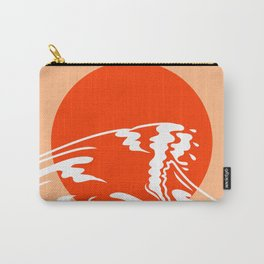 A Great Wave Carry-All Pouch