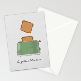 It's Getting Hot In Here, Food Quote Stationery Cards