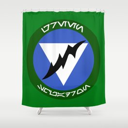 Green Squadron (Alliance) Shower Curtain