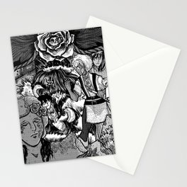 The Deadly Legend of the Blue Rose Stationery Cards
