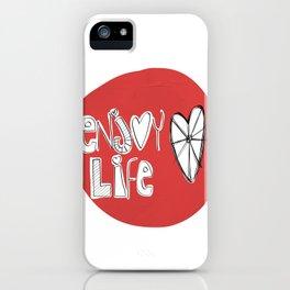 Enjoy life iPhone Case