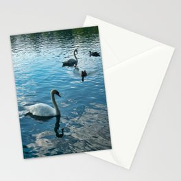 Ducks and Swans Stationery Cards