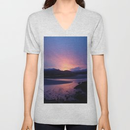 Errigal Sunset Unisex V-Neck