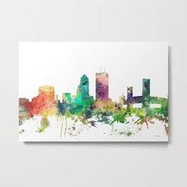 Jacksonville, Florida skyline SP Metal Print