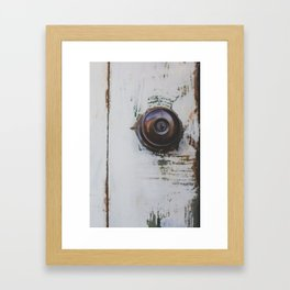 Door / Photography Print / Photography / Color Photography Framed Art Print
