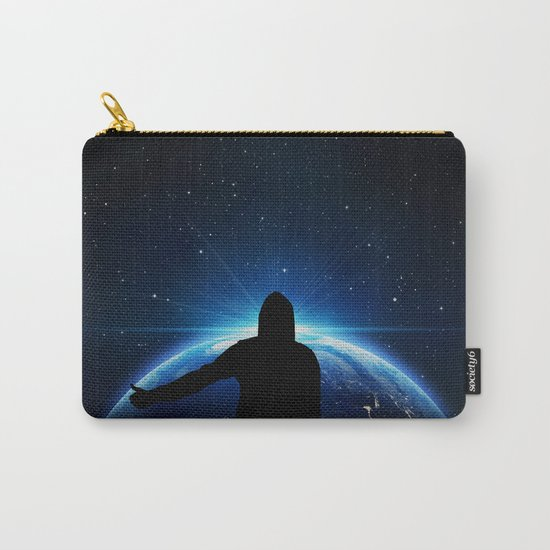 Space hitchhiking Carry-All Pouch