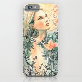 Moonflower iPhone Case