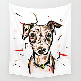 Peach Solomita Wall Tapestry