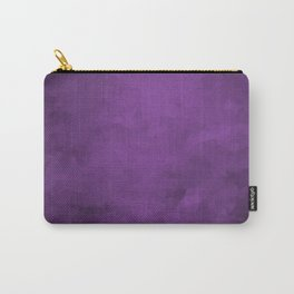 LowPoly Purple Carry-All Pouch