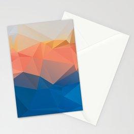 Lima — Poster, scandinavian, art, art print, geometric, pastel, low poly, maritim, drawings, paint Stationery Cards