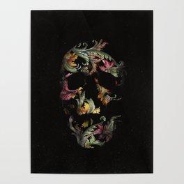 Paisley Skull Poster