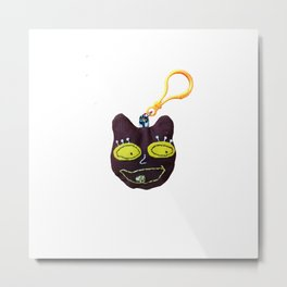 teddy pop art keychain Metal Print