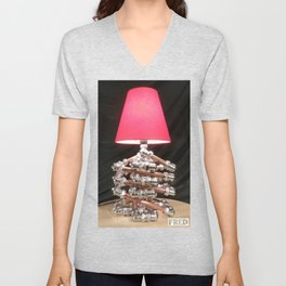 Accent Lamps  - Copper and Chrome Collection - FredPereiraStudios.com_Page_44 Unisex V-Neck
