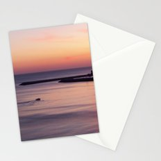 Sunset Albufeira Portugal Stationery Cards