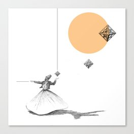 Darwish Canvas Print