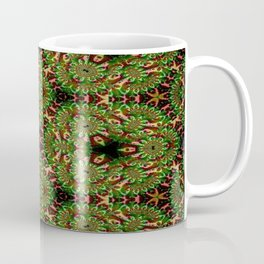 Concave Stature Pattern 8 Coffee Mug