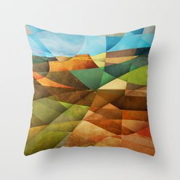 Schnebly Hill, Sedona Throw Pillow