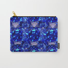 BLUE SAPPHIRES GEM BIRTHSTONE Carry-All Pouch