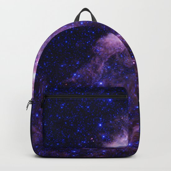 gAlAXY Purple Blue Backpack