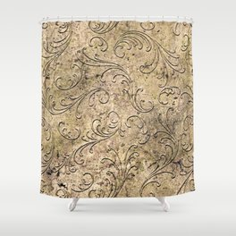 Vintage Damask 17416 Shower Curtain