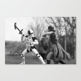 Let's fight! Canvas Print
