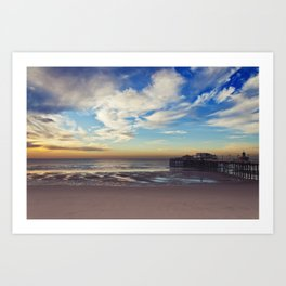 North Pier Art Print