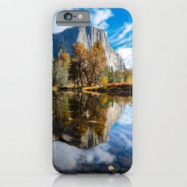 Yosemite National Park Fall Colors / Valley View   11-3-18  iPhone Case