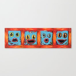 you've been googled Canvas Print