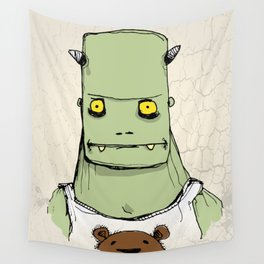 Monster & Teddy Wall Tapestry