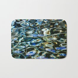 Cool Prismatic Waves on the Yuba Bath Mat