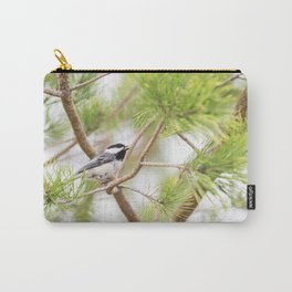 Black-Capped Chickadee 7 Carry-All Pouch