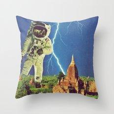 Attack Throw Pillow