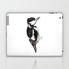 Great Spotted Woodpecker Laptop & iPad Skin