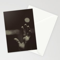 raised hands Stationery Cards