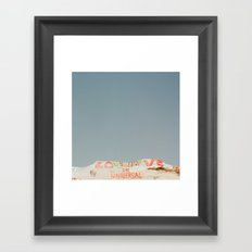 Universal Love Framed Art Print