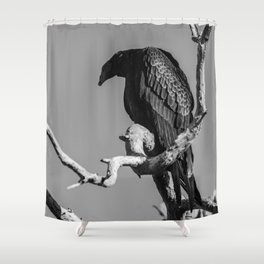 Just Watching You Shower Curtain